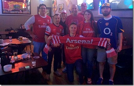 Sac Gooners at Zebra Club