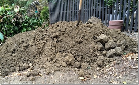 pile of dirt