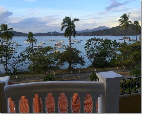 Panama hotel view