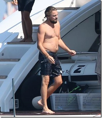 dicaprio on boat dad bod