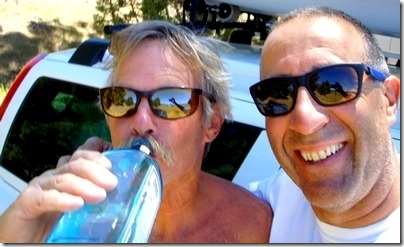 blue bottle Lon and frank